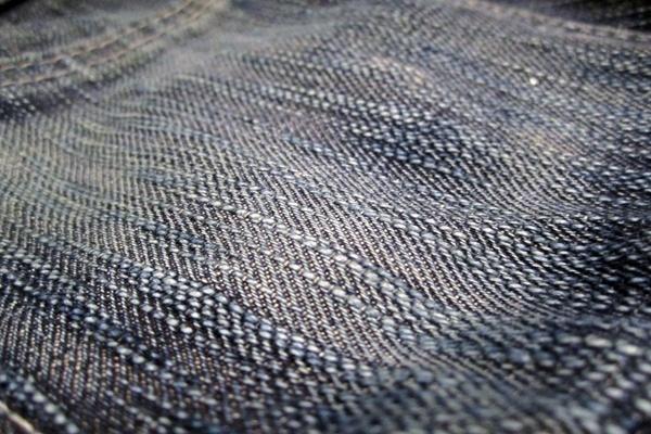 Slub fading detail on Naked and Famous Big Slub Jeans