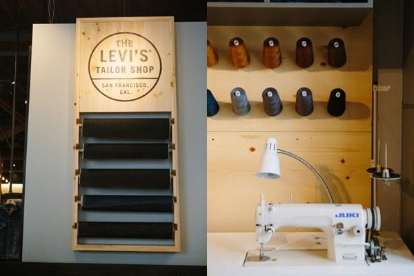 Levi's Interior (source: Ashley Batz, Refinery29)