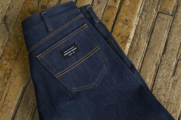 Back Pocket - Pointer Brand American Original Blue Jeans (Lot 158R)