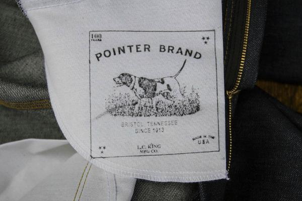 Pointer Brand Silk Screened Pocket