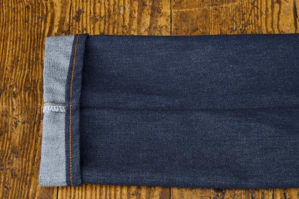 Hem finishing - Pointer Brand American Original Blue Jeans (Lot 158R)