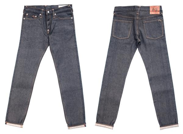 EVISU Men's Slim Carrot Fit Jeans