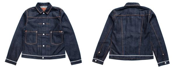 Evisu 2 Pocket Denim Jacket - 10 oz