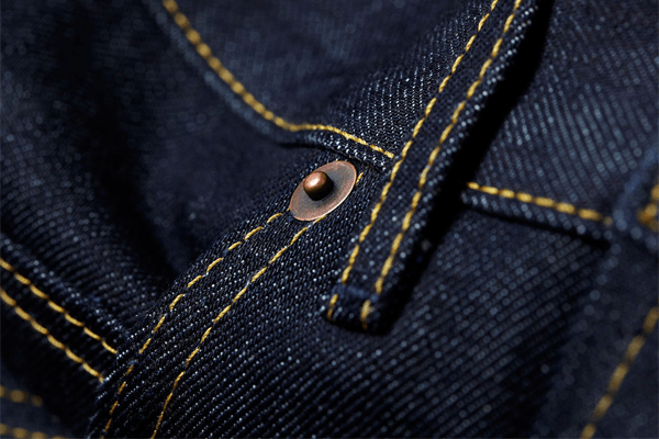 Hardware - Hiut Denim Co. Organic The Slim