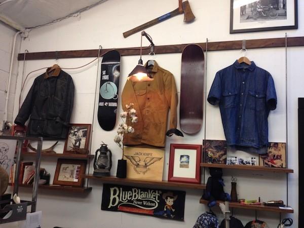 Jack/Knife Merchandise Display
