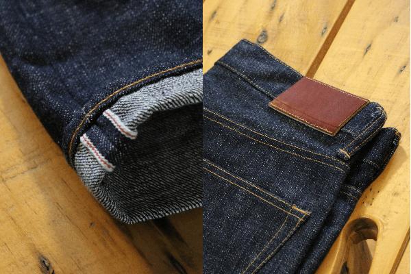 Japan Blue AW13 16.5Oz. JB0212 Monster skinny jeans details