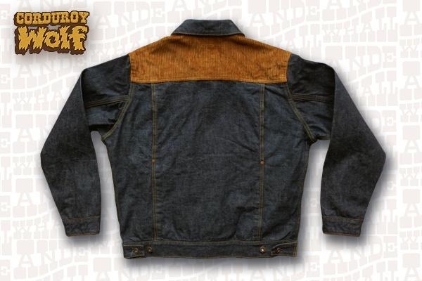 Back - Ande Whall Wolf Jacket Corduroy Yoke Version