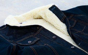 Tellason Boa-Fleece-Lined Jean Jacket – Just Released