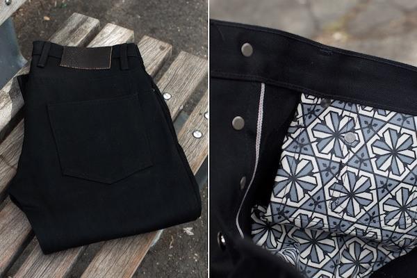 3sixteen 'Black Hex' Jeans