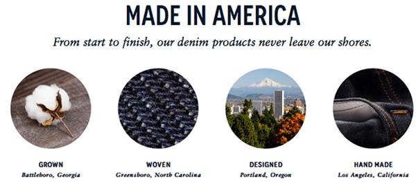 Bluer Denim - Made in America