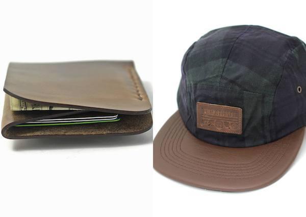 Teranishi Eno Wallet and Blackwatch Hat