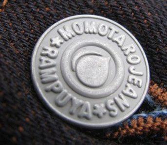 Momotaro-Deep-Indigo-Brown-Weft-15oz-Tight-Straight-Model-0702BR