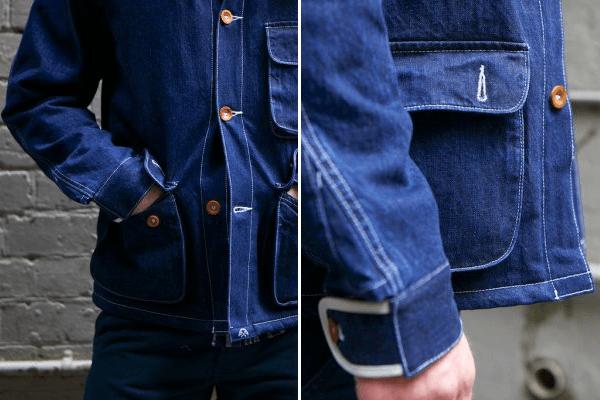 Bleu De Paname Denim Double Comptoir Jacket
