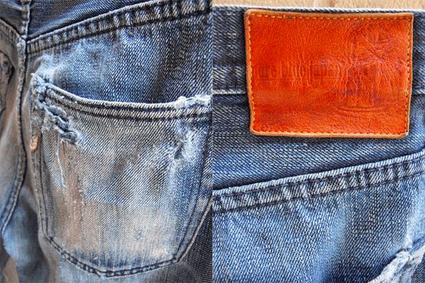 Back Pocket, Patch - Pure Blue Japan XX-007