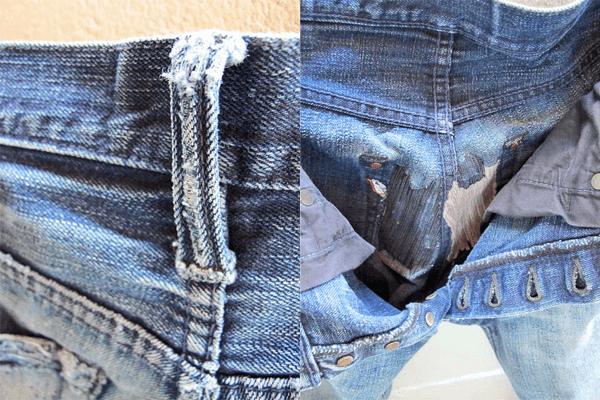 Belt Loop, Repairs - Pure Blue Japan XX-007