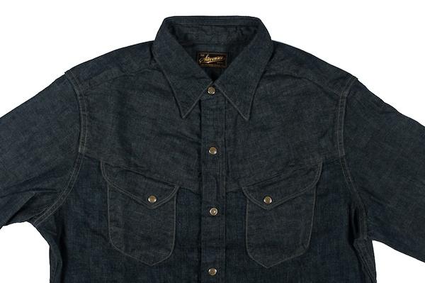 Stevenson Buck Jones Denim Shirt