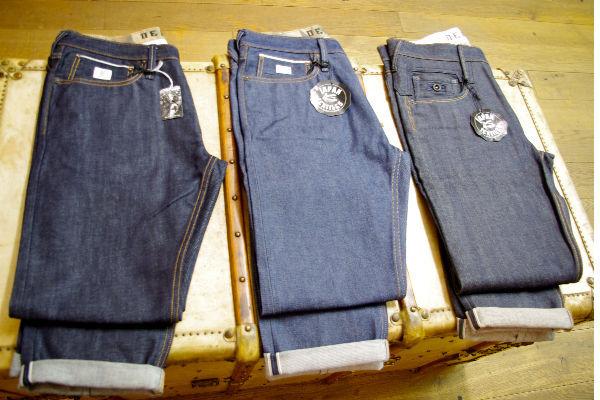 Denham Jeans New Raw Denim Lineup