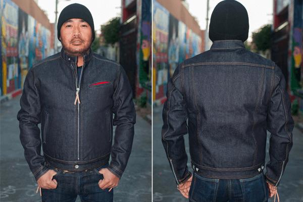 IH Blanket Lined 21oz Indigo Rider's Jacket