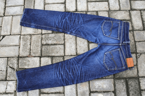 A pair of Studio D'Artisan jeans.