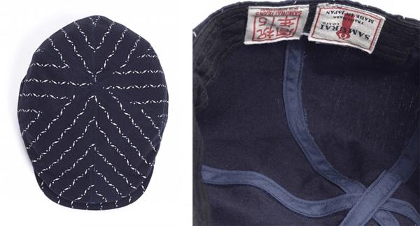 Detailing - Samurai Jeans Kunai Wabash Hunting Cap