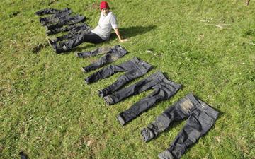 Lee Jeans Dry Denim Survival Weekend