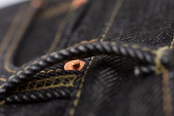 Iron Heart Black 21oz Selvedge Denim Straight Cut Jean (IH-634S-BLK) - RawrDenim
