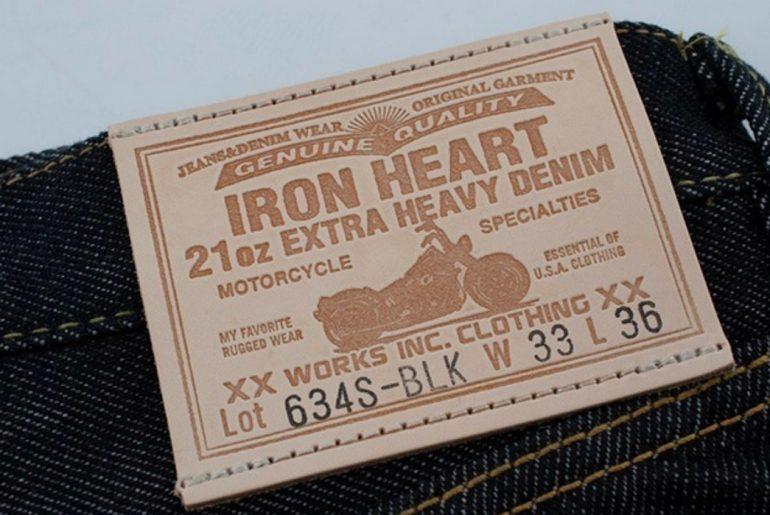 Iron-Heart-Black-21oz-Selvedge-Denim-Straight-Cut-Jean