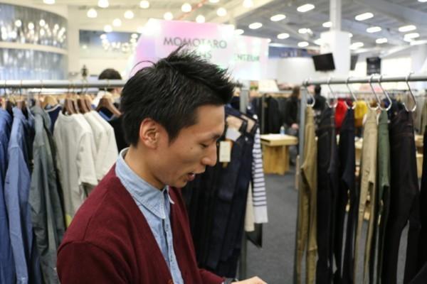 Tatushi Tabuchi of Momotaro Jeans