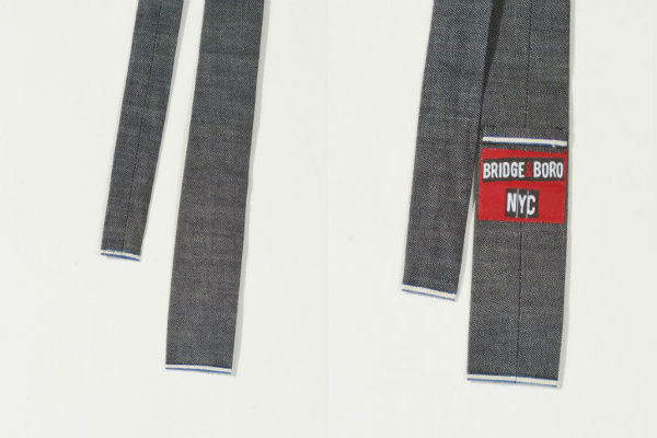Bridge&Boro Chambray Selvedge Tie