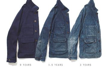 Apolis Indigo Dyed Wool Jacket