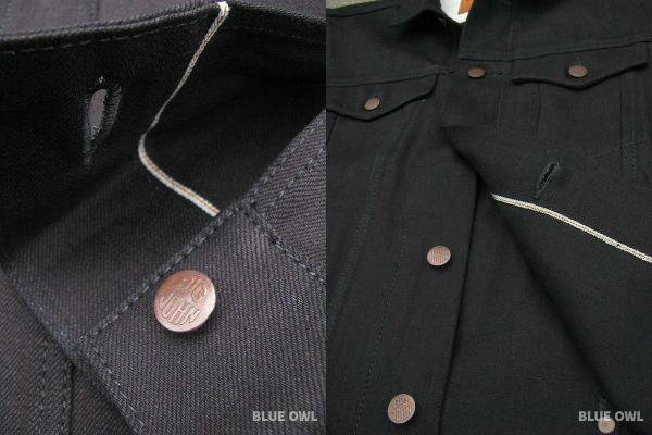 Details - Big John KURO2 Type 3 Denim Jacket