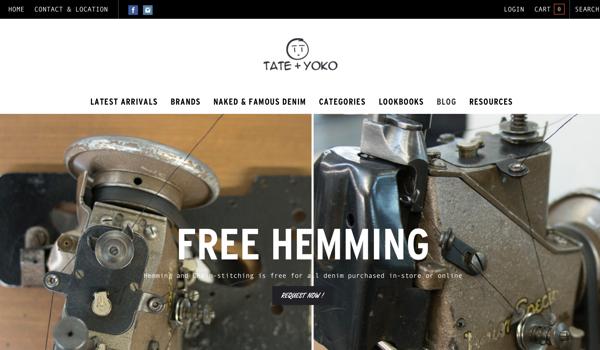 T+Y website