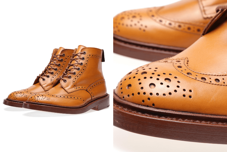 Trickers Storm Welt Boot Construction