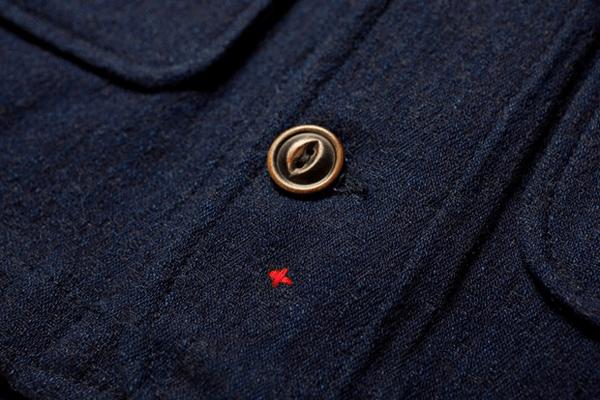 Apolis Indigo Wool Chore Jacket - RawrDenim.com