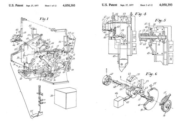 Bar Tacks Explained Patent Drawing