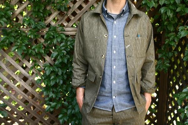 Rogue Territory Rain Drop Camo Field Jacket and Trouser