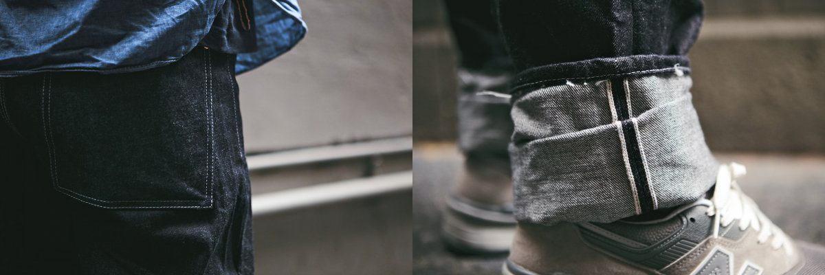 Tender Co. 130 Tapered Jeans Rinse Denim