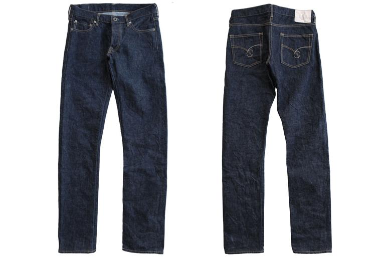 Japan Blue 14.8oz JB02-S-01 and JB04-S-01 front back