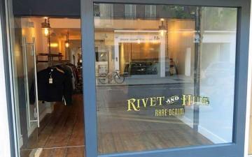 RIvet and Hide London storefront