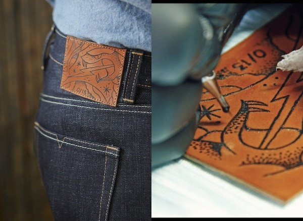 the selvedge yard by norman porter leather patch tattoos