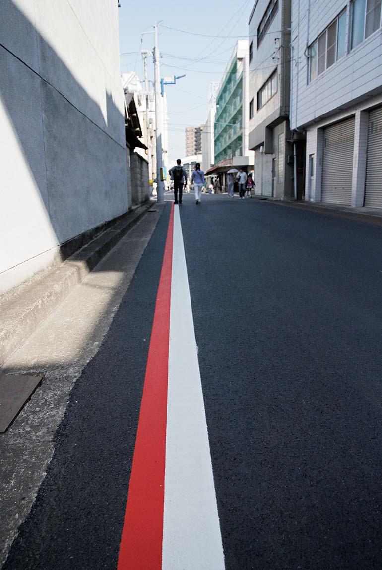 Jeans Street Selvedge Line