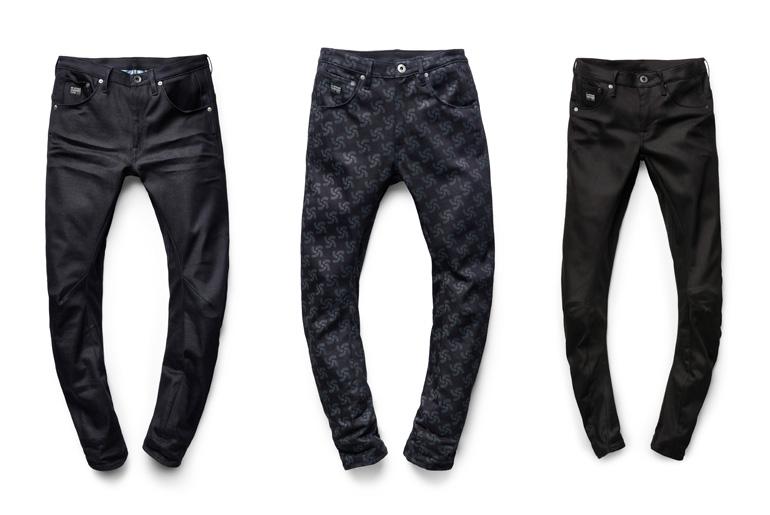 Raw Indigo, Printed Indigo, and Raw Black Women's RFTO Jeans
