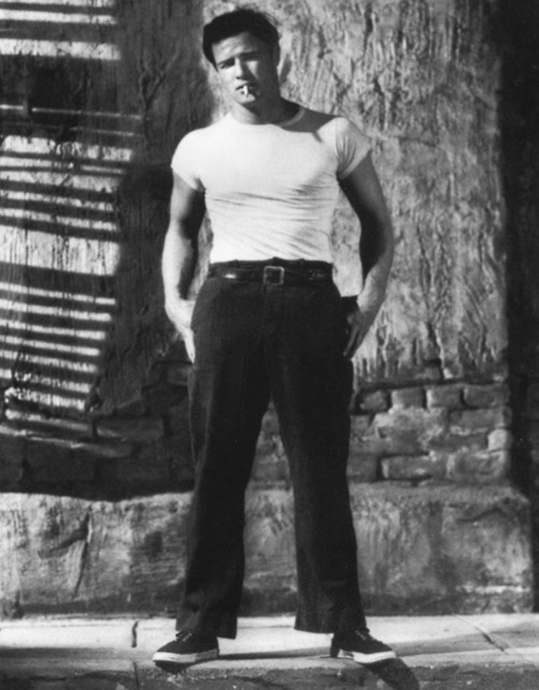 Marlon Brando in A Streetcar Named Desire