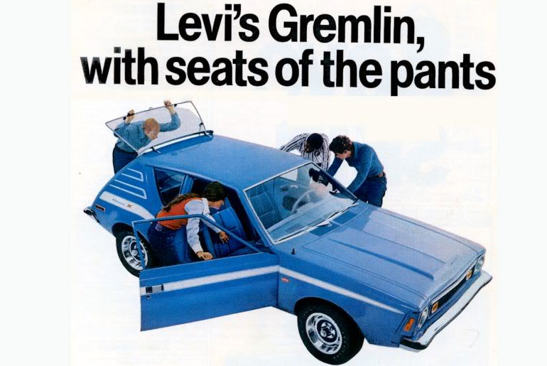 The Levi's AMC Denim Gremlin – The Car that Wore the Pants