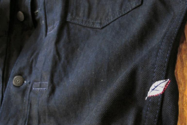 Pure Blue Japan Deep Indigo Jacket – Just Released