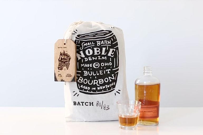 Noble Denim x Bulleit Bourbon – Bourbon Barrel Aged Jeans