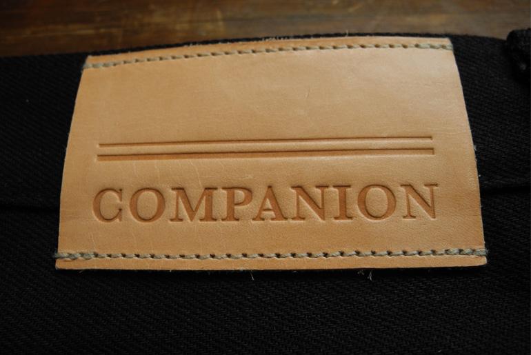 Companion Denim Black Overdye Jeans – Just Announced
