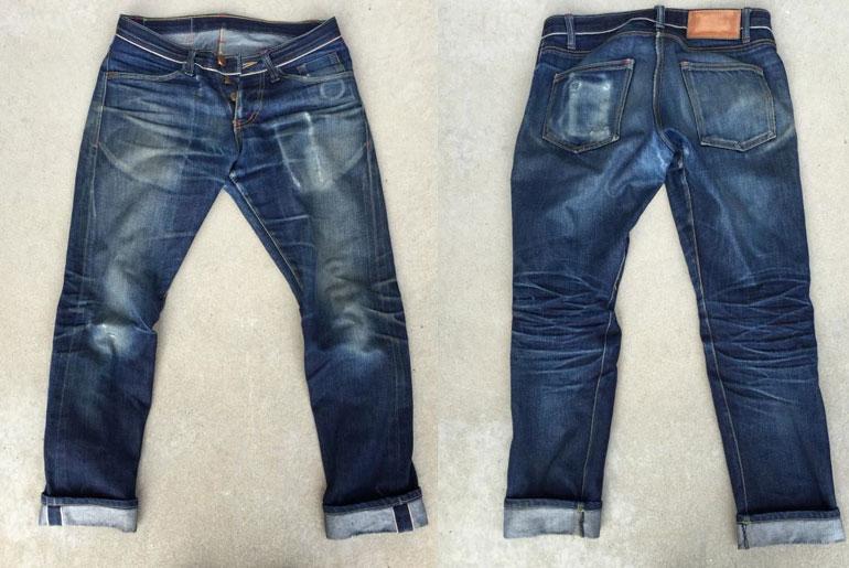 Fade Friday – Detroit Denim Heritage Jeans (18 months, 1 wash)