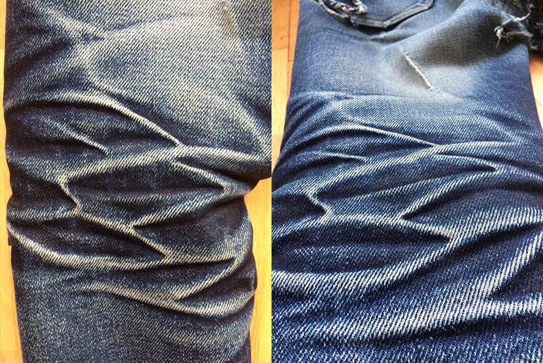 Fade Friday – Lee 101Z 23oz. (21 months, 0 washes, 0 soaks)