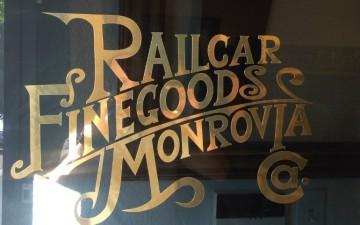 Railcar window